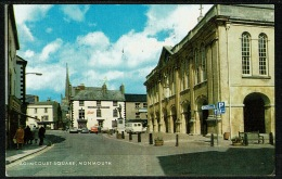 RB 1195 - 1983 J. Salmon Postcard - Cars At Agincourt Square Monmouth Wales - Monmouthshire