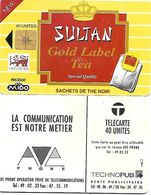 @+ Maroc - Sultan 40U - AVE - Puce Gem1A Noire - Ref : AVE-8 - Maroc