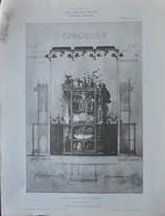 LA DECORATION ANCIENNE ET MODERNE DE MEUBLE CREDENCE EN BOIS SCULPTE - Documentos Antiguos