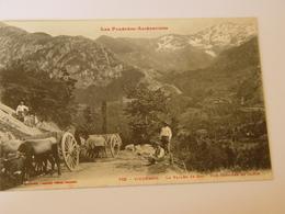 ARIEGE-705-VICDESSOS-LA VALLEE DE LA SUC-UNE CARRIERE DE SABLE ED LABOUCHE-ANIMEE - Autres Communes