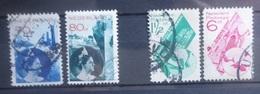 NEDERLAND 1931     Nr. 236 - 237 / 238 - 239       Gestempeld     CW  47,00 - Period 1891-1948 (Wilhelmina)