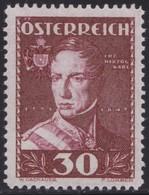 Osterreich     .     Yvert  .       473      .     **    .          Postfrisch  .     /   .    Postfris - 1918-1945 1ste Republiek