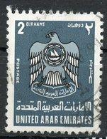 United Arab Emirates 1976 2d Coat Of Arms Issue #80 - Verenigde Arabische Emiraten