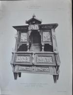 LA DECORATION ANCIENNE ET MODERNE DE MEUBLE BUFFET AVEC APPLICATIONS DE GRES FLAMME - Vieux Papiers