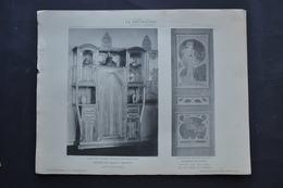 LA DECORATION ANCIENNE ET MODERNE DE MEUBLES - PANNEAU DE PORTE - BUFFET DE SALLE A MANGER - Documentos Antiguos