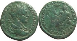 [H] +++ AE26 -- Caracalla -- Nikopolis Ad Istrum - River God  -- RR! ++ - Römische Münzen