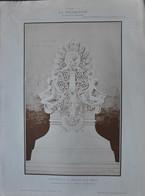 LA DECORATION ANCIENNE ET MODERNE DE MOTIFS D' ARCHITECTURE ET DE SCULPTURES - MONUMENT A LA MEMOIRE D' UN HEROS - Vieux Papiers