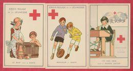 Croix-Rouge / Red Cross - 5 Cartes Postales ( Voir Verso  / See Always Reverse ) - Red Cross