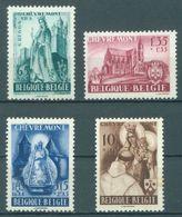 BELGIQUE - 1948 - MNH/***- LUXE - CHEVREMONT - COB 777-780 -  Lot 16261 - Nuovi