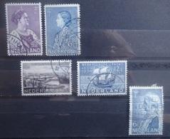 NEDERLAND 1934     Nr. 265 - 266 / 267 - 268 / 269      Gestempeld     CW 14,00 - Period 1891-1948 (Wilhelmina)
