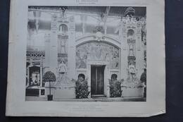 LA DECORATION ANCIENNE ET MODERNE DE MOTIFS D' ARCHITECTURE ET DE SCULPTURES - PAVILLON DE LA PARFUMERIE  EXPO 1900 - Alte Papiere