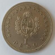 URUGUAY - 1 Peso 1960 - Cu -Ni - - Uruguay