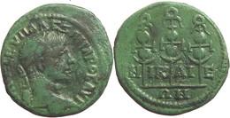 [H] ++ AE21 -- SEVERUS ALEXANDER  -NICAEA/NIKAIA / Bithynia - EF! ++ - Römische Münzen