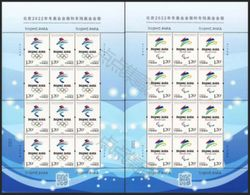 2017-31  CHINA BEIJING WINTER OLYMPIC&PARALYMPIC GAME F-SHEET - Winter 2022: Beijing