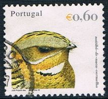 Portugal - Oiseau : Engoulevent à Collier Roux 2553  + Observatoire De Coimbra 2564 (année 2002) Oblit. - 1910-... République