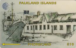 Falkland Islands Port Stanley - Fine Used - Falkland Islands