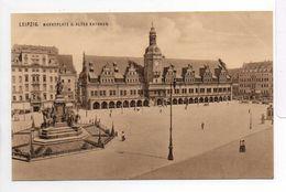 - CPA LEIPZIG (Allemagne) - Marktplatz U. Altes Rathaus - Verlag OTTMAR ZIEHER 1464 - - Leipzig