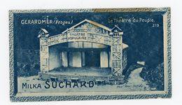 CHOCOLAT SUCHARD - VUES DE FRANCE - 219 - GERARDMER, LE THEATRE DU PEUPLE (VOSGES) - Suchard