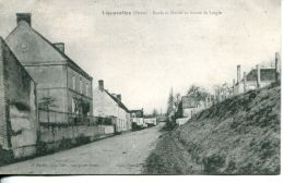 N°4292 A -cpa Lignerolles -école Et Mairie- - France