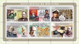 GUINEA BISSAU 2008 - Medicine, L. Pasteur - YT 2686-91 - Louis Pasteur