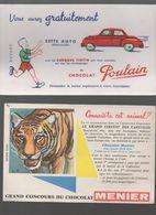 Lot De 10 Buvards Publicitaires Neufs (PPP7578) - Collections, Lots & Séries