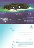 Entier / Stationery / PSC - PAP Vanuatu  : Carte N°2 - Poste Sous-marine - Vanuatu (1980-...)