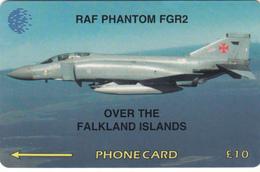 Falkland Islands  Phonecard -Phantom FGR2 - Fine Used - Falkland Islands