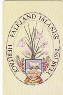 Falkland Islands  Phonecard -Heritage 1991 - Fine Used - Falkland Islands