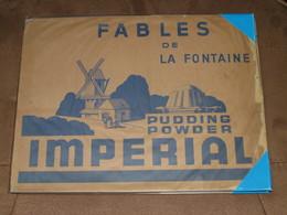 Album Collecteur Images Vignettes - IMPERIAL - Flan ... - FABLES DE LA FONTAINE -1 Er Album De 48 I -vers 1950 - Complet - Autres