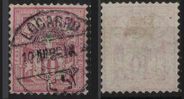 SVIZZERA - HELVETIA - (Vedere Fotografia) (See Photo) Lotto - 1882-99 - 10c Rosa - 1882-1906 Wappen, Stehende Helvetia & UPU