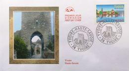 FRANCE 3892 FDC 1er Jour Yvoire En Haute-Savoie Au Bord Du Lac Léman - 2000-2009