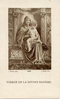 Santino Antico VIERGE DE LA DIVINE SAGESSE - PERFETTO P7- - Religione & Esoterismo