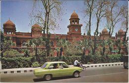 Pakistan - Punjab University ( Old Buildings ) At Lahore.cars - Pakistan