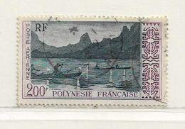POLYNESIE  ( DT - 361 )   1958  N° YVERT ET TELLIER  N° 4 - Oblitérés
