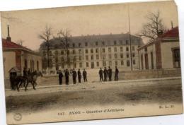 77 AVON - Quartier D'Artillerie - Couleur - ELD - Avon