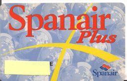 TARJETA SPANAIR PLUS - Aviación Comercial