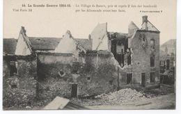 77.WW1...BARCY PRIS ET REPRIS 2 FOIS  1914/15 TTBE - Autres Communes