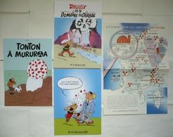 Lot 4 Posters PASTICHES TINTIN ASTERIX Détournements ANTINUCLÉAIRES / Planches Tirés à Part, Collectors +++ - Affiches & Offsets
