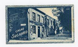 CHOCOLAT SUCHARD - VUES DE FRANCE - 260 - BAZEILLES, MAISON DES DERNIÈRES CARTOUCHES (ARDENNES) - Suchard