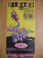 Affiche PELLEJERO Ruben Festival BD Perpignan 2017 (Corto Maltese) - Affiches & Offsets