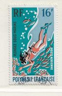 POLYNESIE  ( DT - 387 )   1971  N° YVERT ET TELLIER  N° 49 - Oblitérés