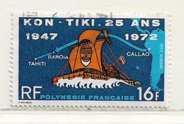POLYNESIE  ( DT - 390 )   1972  N° YVERT ET TELLIER  N° 64 - Oblitérés