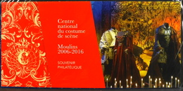 FR. 2016 - SOUVENIR PHILATELIQUE N° 124 - Centre Nal. Du Costume De Scéne - NEUF S/Blister - Souvenir Blocks & Sheetlets