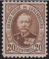 Luxembourg      .     Yvert  .    61 A       .        *    .          Ongebruikt   .     /   .    Mint-hinged - 1859-1880 Wapenschild