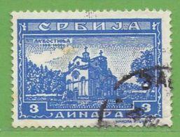 MiNr.76 O Deutschland Besetzte Gebiete II.WK Serbien - Besetzungen 1938-45
