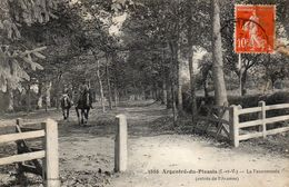 ARGENTRE Du Plessis - La Fauconnerie (entrée De L'avenue) - Sonstige Gemeinden
