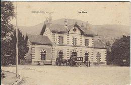 Vosges : Bussang, La Gare - Bussang