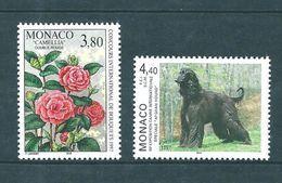 Monaco Timbres  De 1996  N°2078 Et 2079  Neufs ** Parfait Prix De La Poste - Monaco