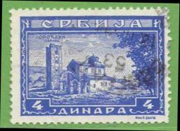 MiNr.78 O Deutschland Besetzte Gebiete II.WK Serbien - Besetzungen 1938-45