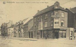 MIDDELKERKE : Avenue Leopold - Pension De Famille Savoy Et Hotel Regina - RARE VARIANTE - Cachet Poste 1930 - Middelkerke